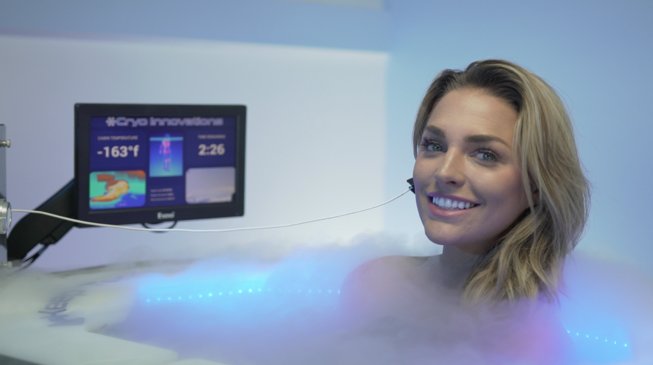 Woman_in_Chamber About Cryotherapy at Scottsdale °CRYO at The SHAW Center