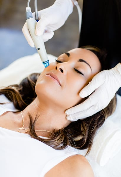 Female-Treatment-1-1 HydraFacial in Scottsdale